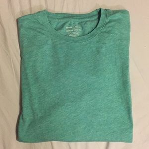 BANANA REPUBLIC Premium Wash Tee Green Size Large